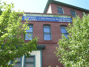 Full Color For Sale Building Banner