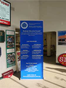 Retractable Banner Display