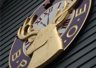 Custom 3D Carved Sign Elks Club