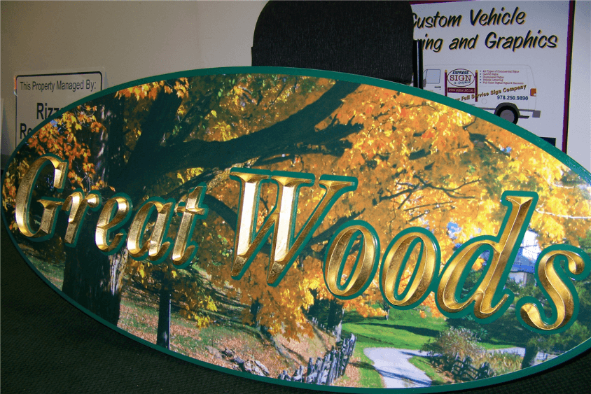 Custom Carved Signs – Wood versus HDU (High Density Urethane)