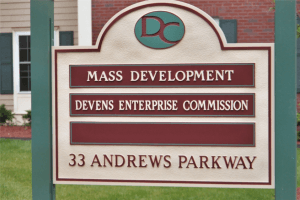 Sandblasted Directory Sign Devens, MA