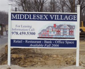 Retail Construction Site Sign