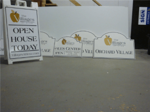 New Construction Real Estate Sign
