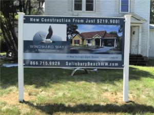 Real Estate Development Sign