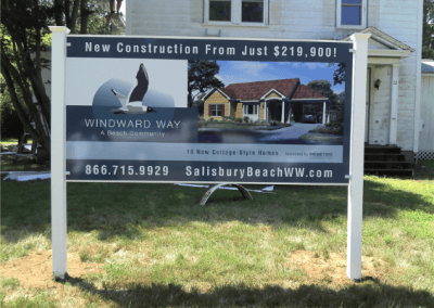 Real Estate Development Sign