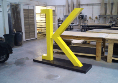 Custom Life Size Dimensional Letter
