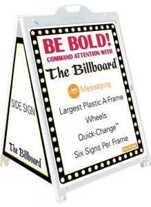 The Billboard Signicade Frame