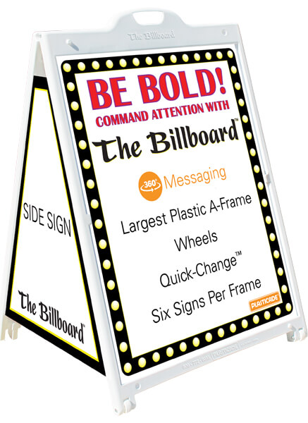 The Billboard 3′ x 4′ A-Frame