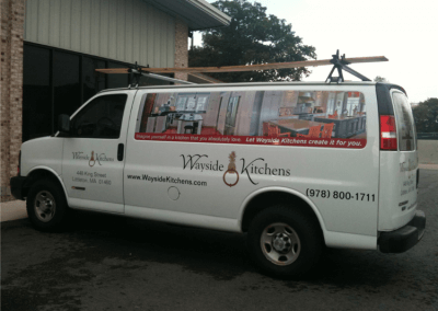 Truck and Vehicle Lettering