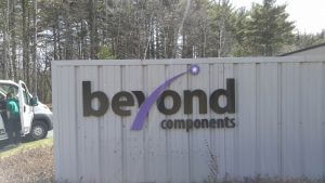 Custom Dimensional PVC Letter Sign Exterior