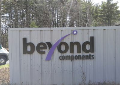CustomPVC  Dimensional Letter Sign Exterior