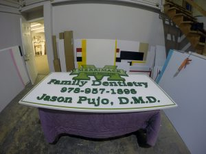 Dimensional Exterior Sign PVC