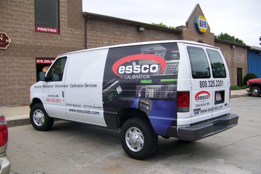 Partial Wrap and Vinyl Lettering