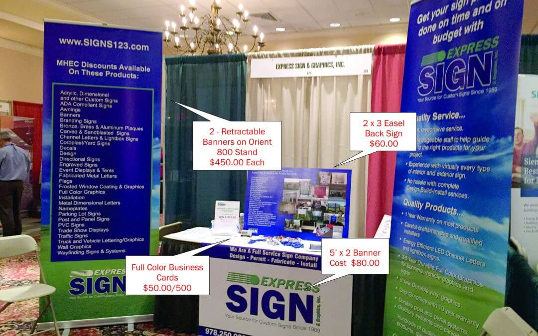 Making the Most of Your 10 x 10 Tradeshow Booth for Less!