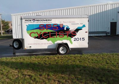 Landscape Trailer with Full Color Graphics
