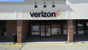 Verizon PVC Letters Exterior Building