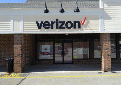 Verizon PVC Letters Exterior