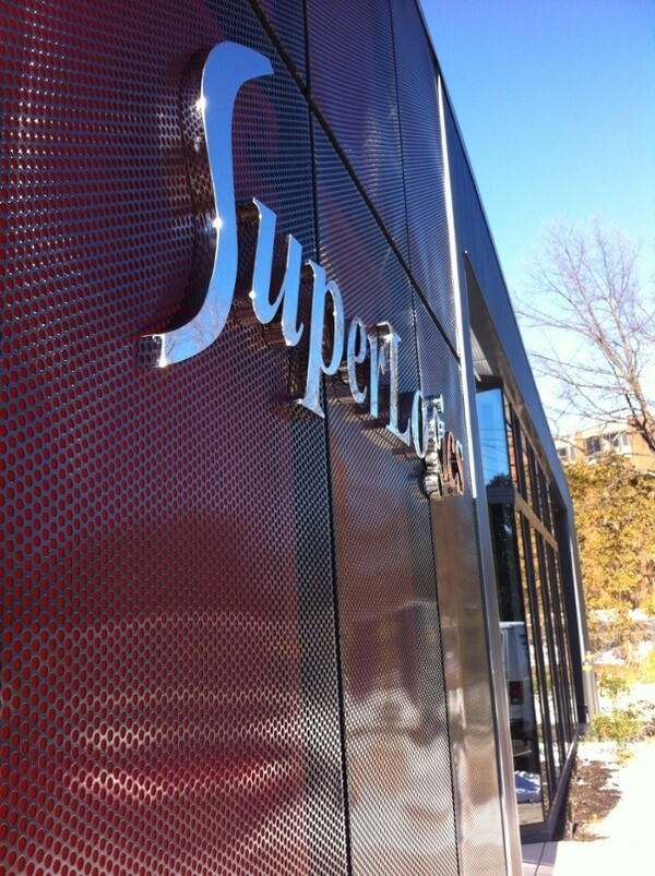 Polished Fabricated Stainless Steel Letters