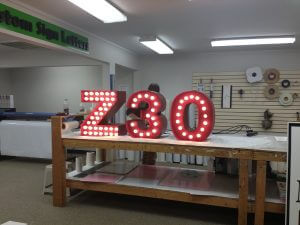 Marquee Style Channel Letters