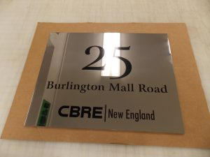 Engraved Stainless Steel Signs
