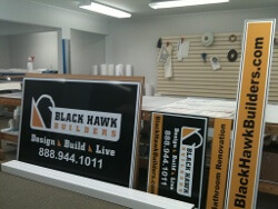 Post and Panel Signs - Construction Signs