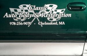 Classic Auto Body, Chelmsford, MA Truck Lettering