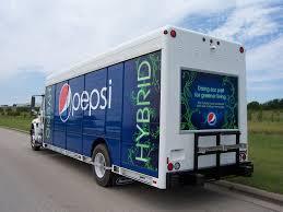 Pepsi Truck Lettering