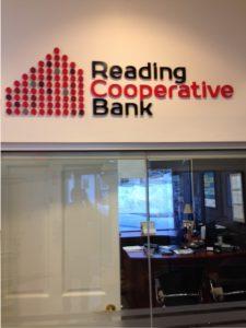 Interior Bank Signs, Reading MA