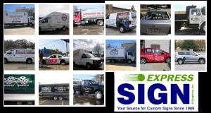 Truck Lettering Samples