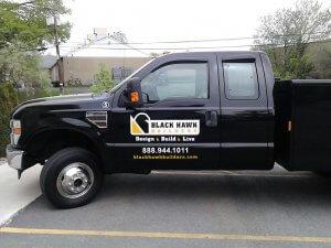 Blackhawk Builders Truck