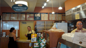 Indoor signs typically help customers navigate the interiors of store, restaurant or service