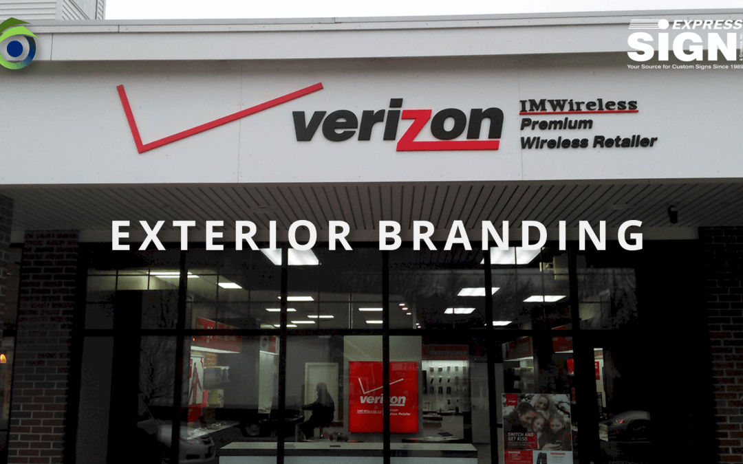Verizon Custom Exterior Signs | Outdoor Signs | Chelmsford MA