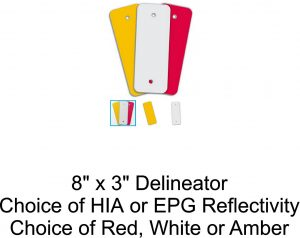 8x3 Reflective Delineator