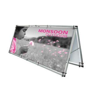 Monsoon Outdoor Banner Display