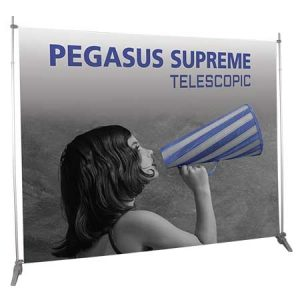 Pegasus Telescopic Banner Display