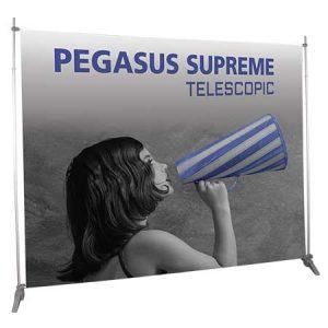 Pegasus Telescopic Banner Display