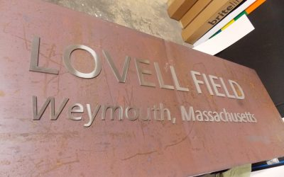 Using COR-TEN Steel For Signs