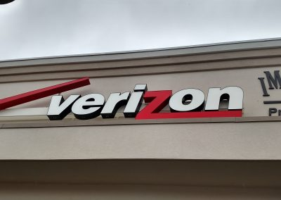 Channel Letters Verizon Salem NH
