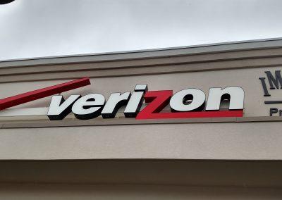 Channel Letters Verizon Salem NH