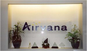 Airvana Acrylic and Standoff Sign Chelmsford, MA