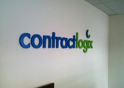 Contract Logic Interior Sign