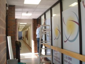 Window Graphics Installation