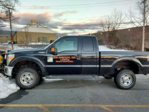 Two Color Pickup Truck Lettering
