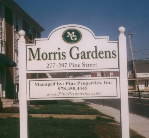 Apartment Complex Sign
