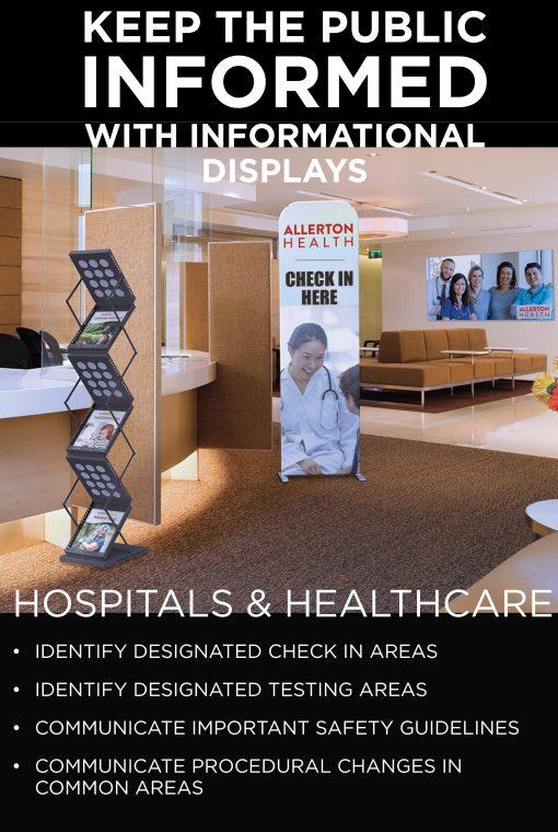 Healthcare Social Distancing Signs