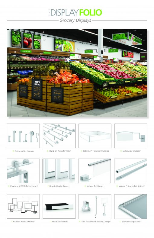 Grocery Display Products