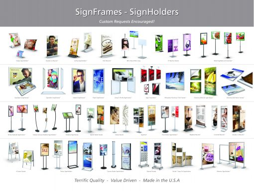 Sign Frames and Displays