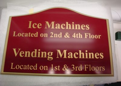 Custom Directional Signs for Hotels and Hospitals