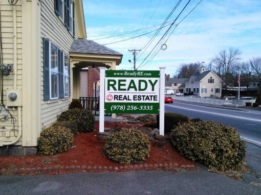 Real Estate Office Sign